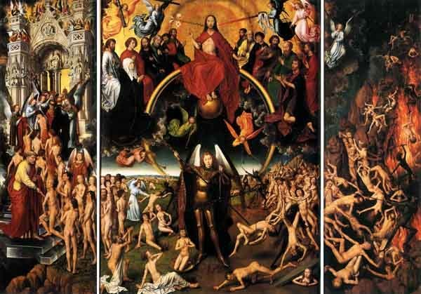 The Last Judgment, by Hans Memling 1473.