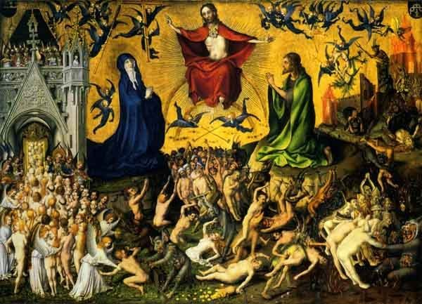 The Last Judgment, by Stefan Lochner c. 1435.