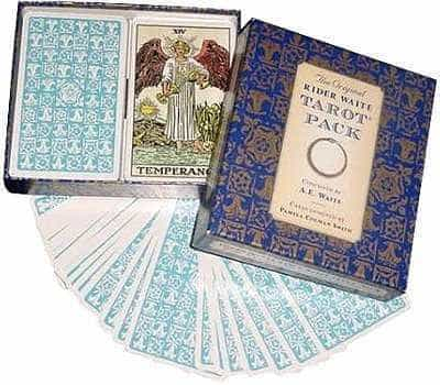The Tarot according to A. E. Waite.