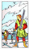 Tarot Minor Arcana card: Five of Swords