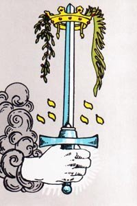 The Swords Tarot Suit.