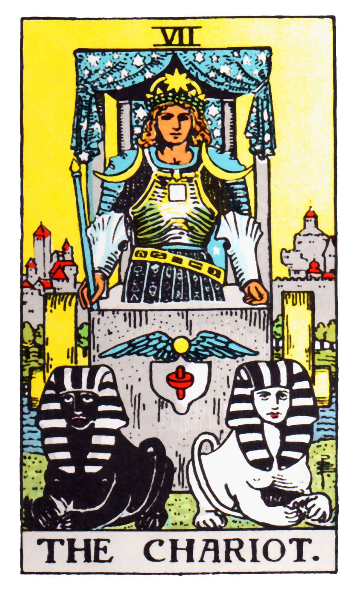 The Chariot Tarot Card Meaning In Readings: Conqueror
