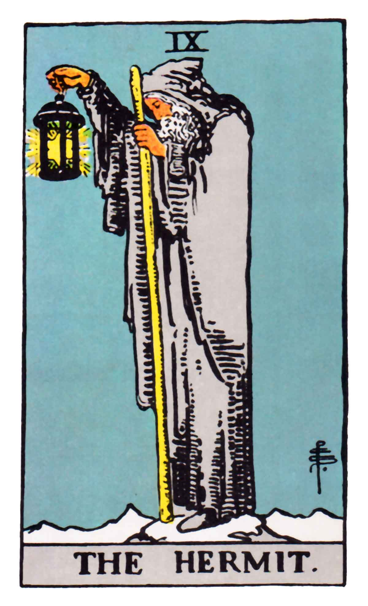The Tarot Parlour Email Readings: The Hermit Tarot Card Meaning In Readings: Isolation