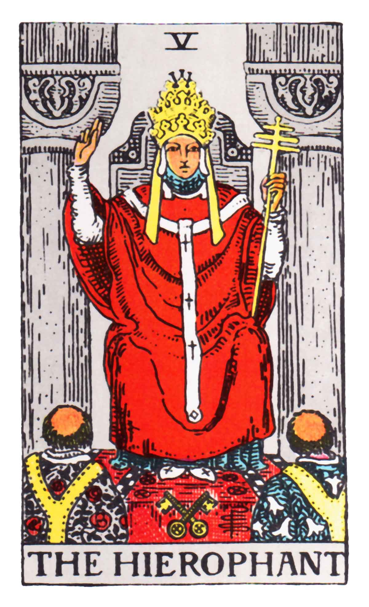 The Hierophant Tarot Card Meaning In Readings: Elevated