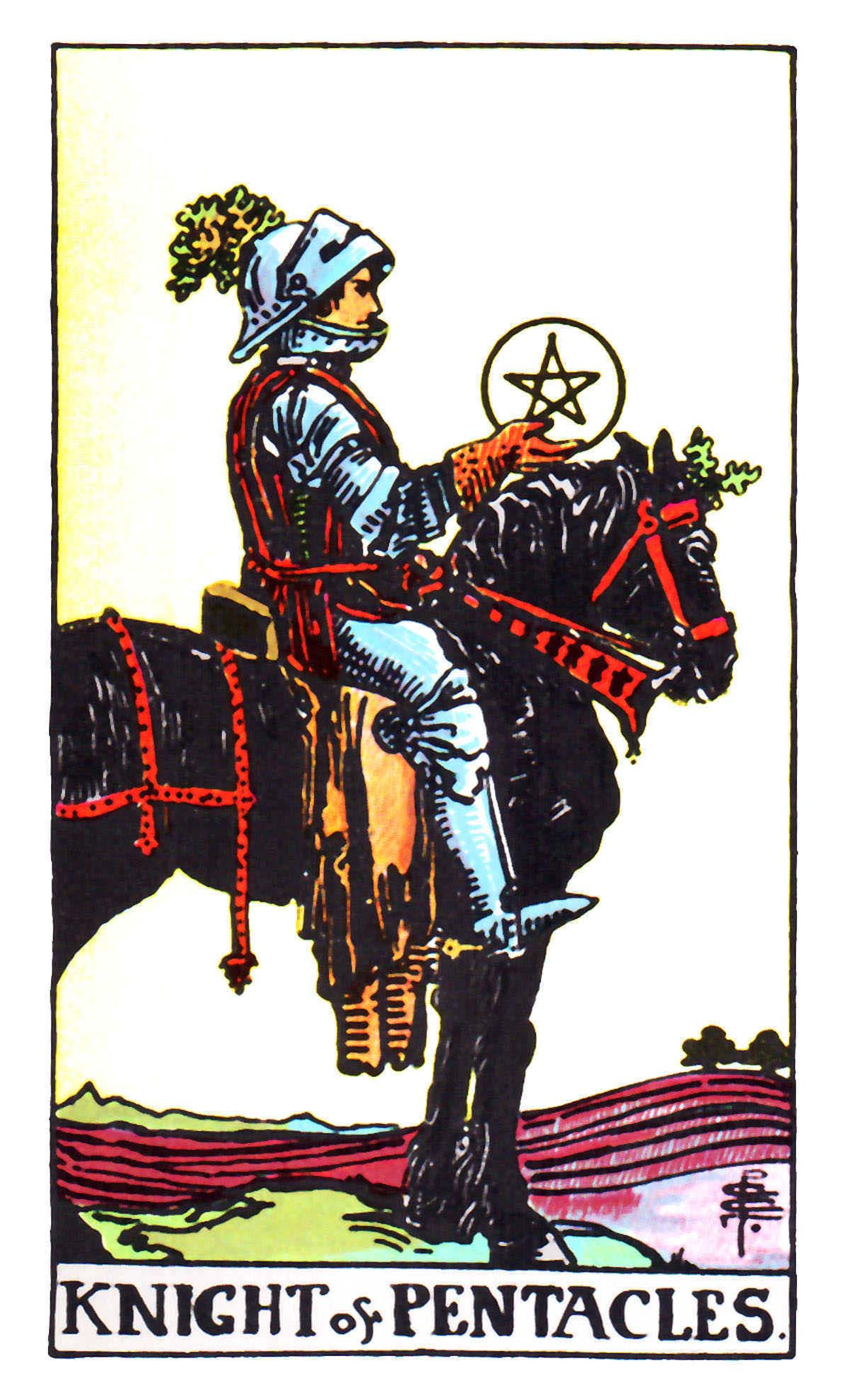Tarot Knight Of Wands: The Pentacles Suit Tarot Cards Meanings In Readings