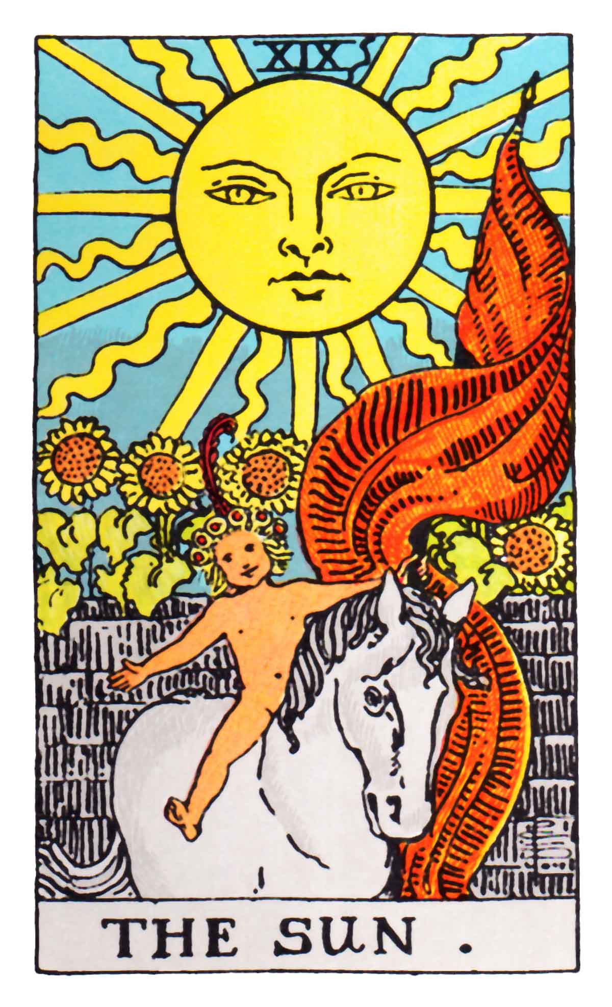 Tarot Card Readings Wiki: The Sun Tarot Card Meaning In Readings: Triumph