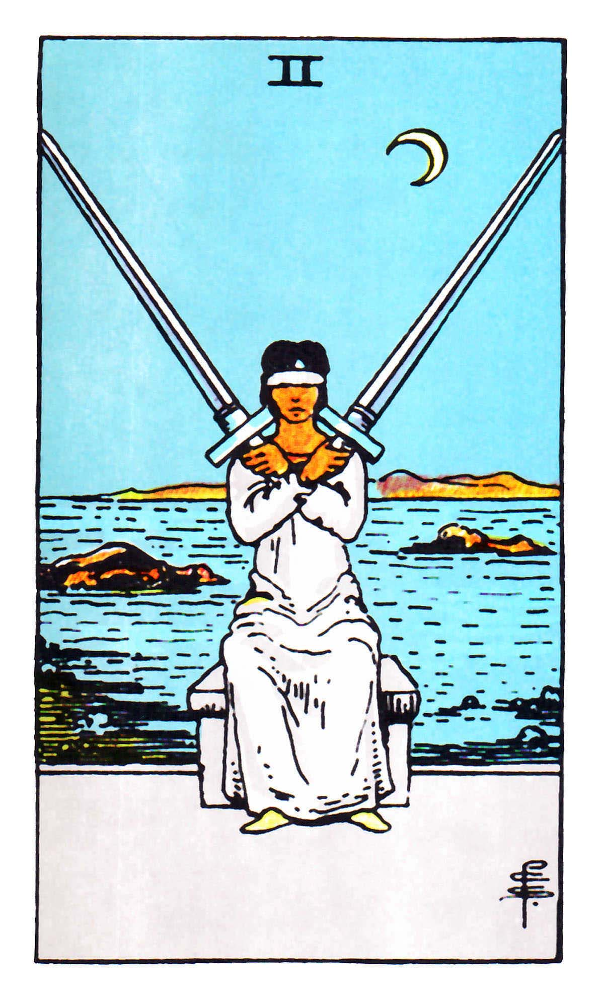 tarot card meanings 2 of swords