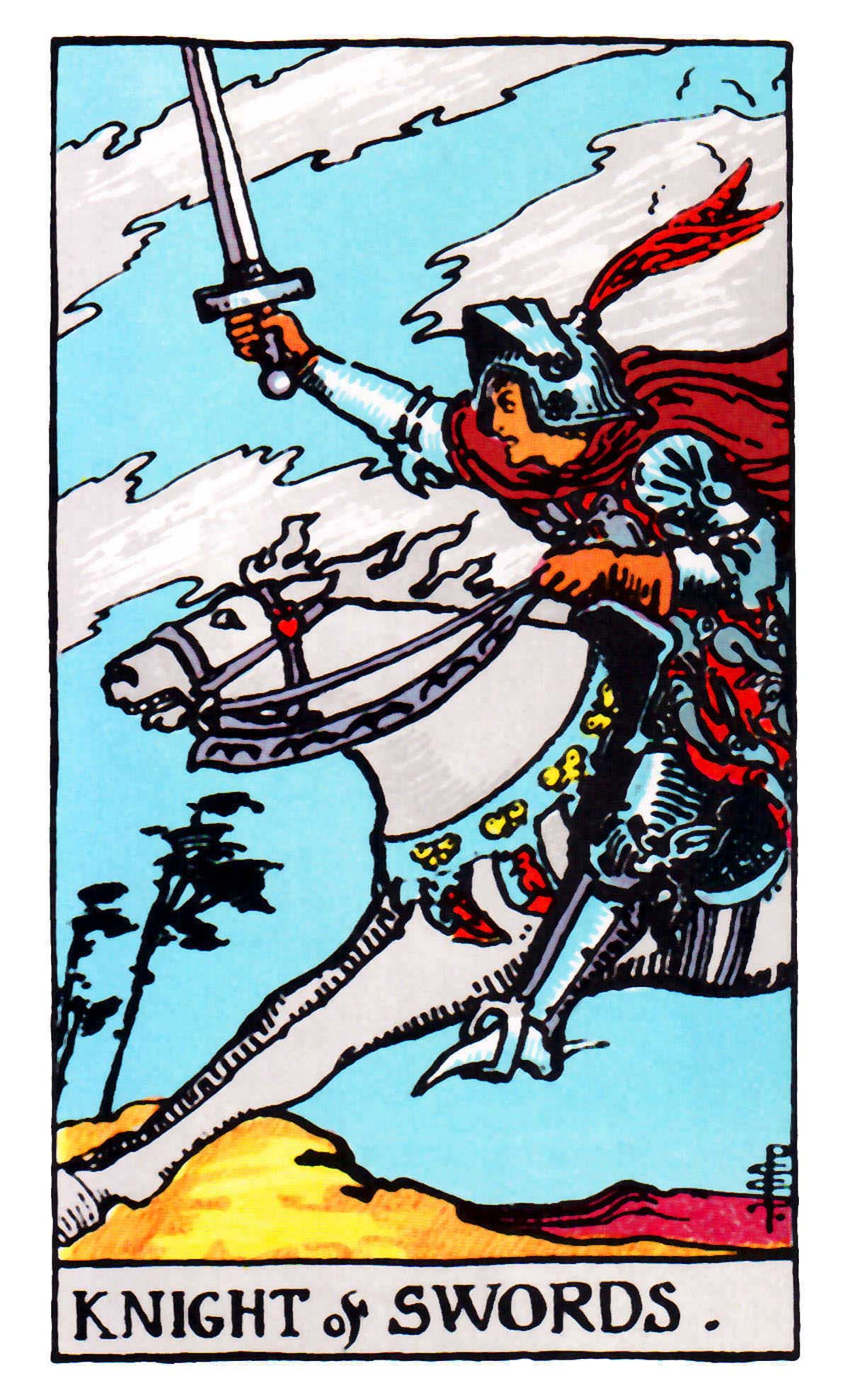 Tarot Knight Of Wands: The Swords Suit Tarot Cards Meanings In Readings