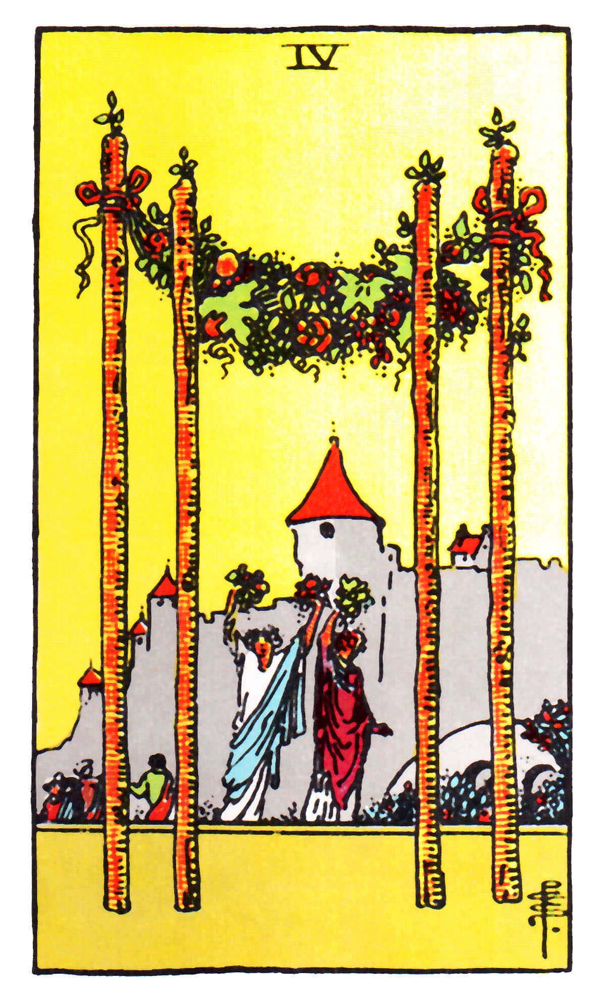 The Wands Suit Tarot Cards Meanings In Readings