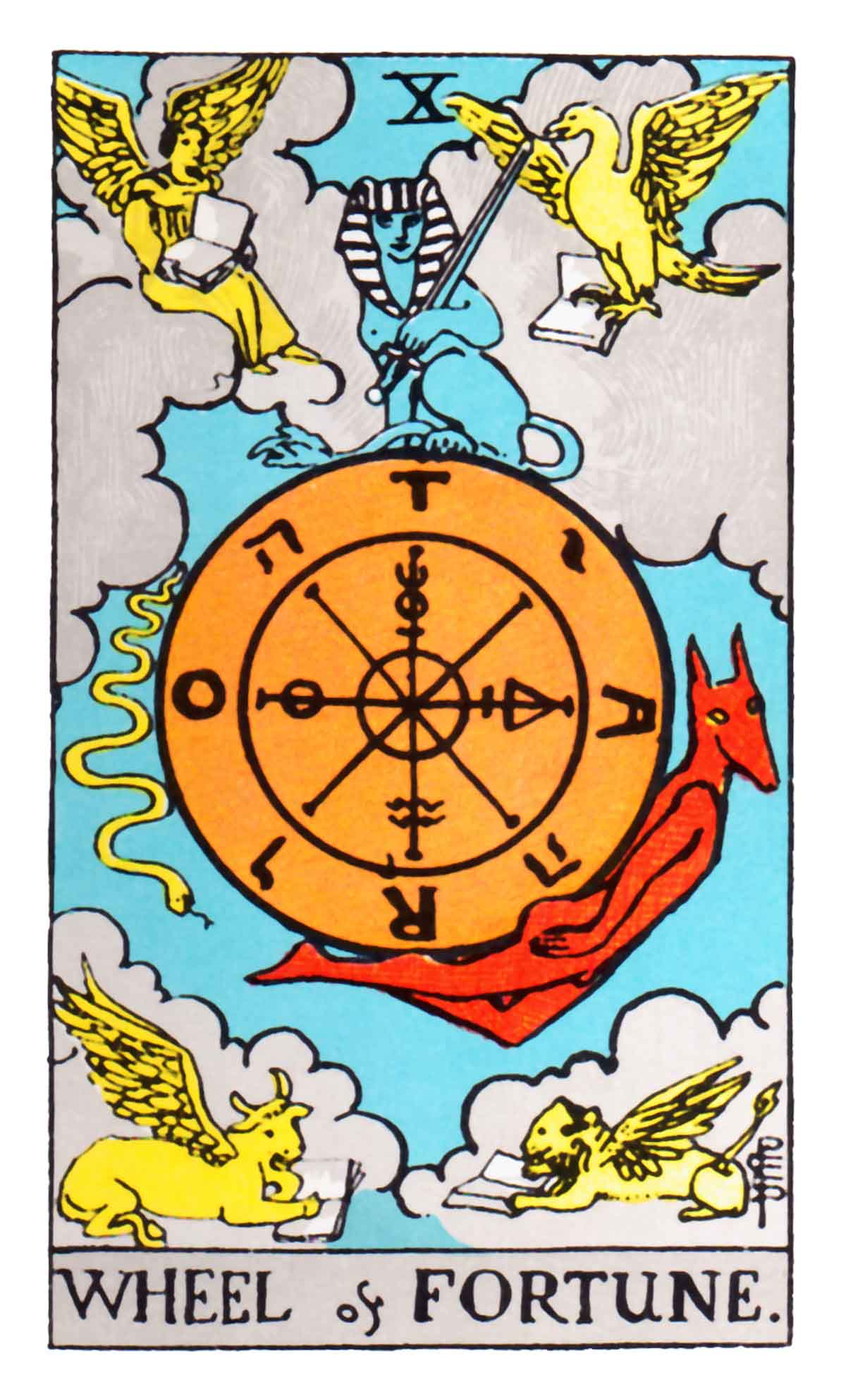 The Wheel of Fortune Tarot Card Meaning in Readings: the Unpredictable