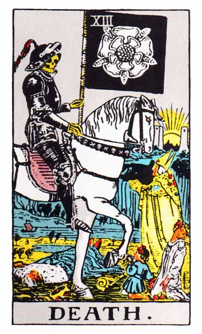 Death Major Arcana Tarot card.