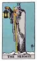The Hermit Tarot Card and its meaning