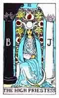 The High Priestess Tarot Card and its meaning
