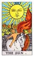 The Sun Tarot Card and its meaning