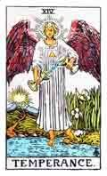 Temperance Tarot Card and its meaning