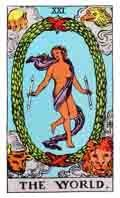 The World Tarot Card and its meaning